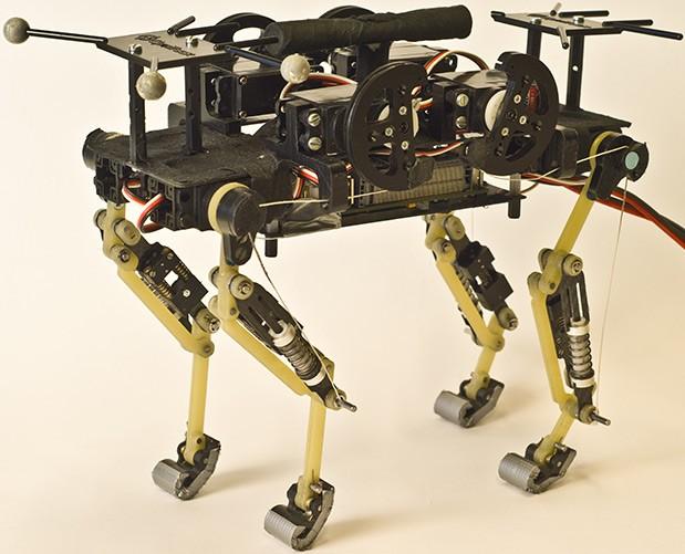 Swiss Scientists Create a Robot that Runs like a Cat