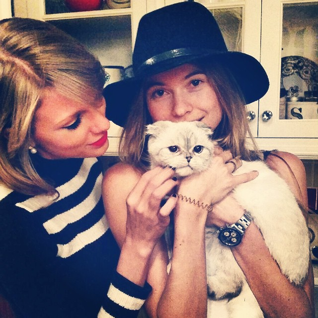 What do you get When Combine Taylor Swift, a Cat, and Behati Prinsloo?