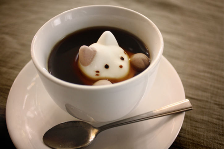 There are Now Cat Marshmallows for your Hot Cocoa!