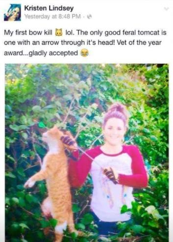 Texas Veterinarian Fired after Killing Cat and Bragging about it on Facebook