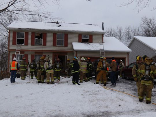 Firefighters Save the Lives of Two Cats in Unfortunate House Fire