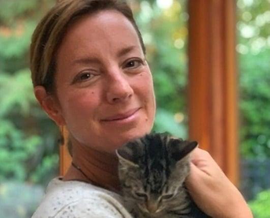 Sarah Mclachlan Adopts New Kitten Queen Peanut